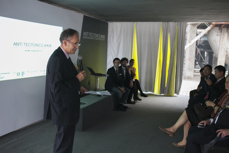 The Italian Ambassador to PRC, Alberto Bradanini